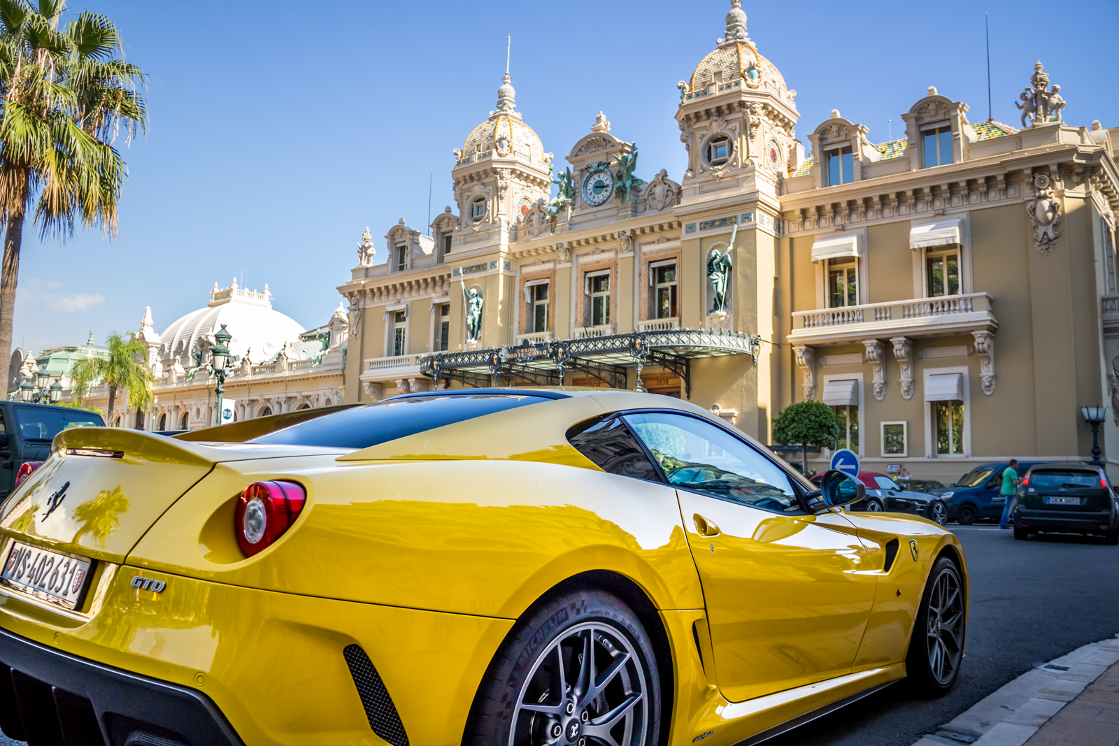 Supercar Sight Seeing In Monte Carlo Monaco