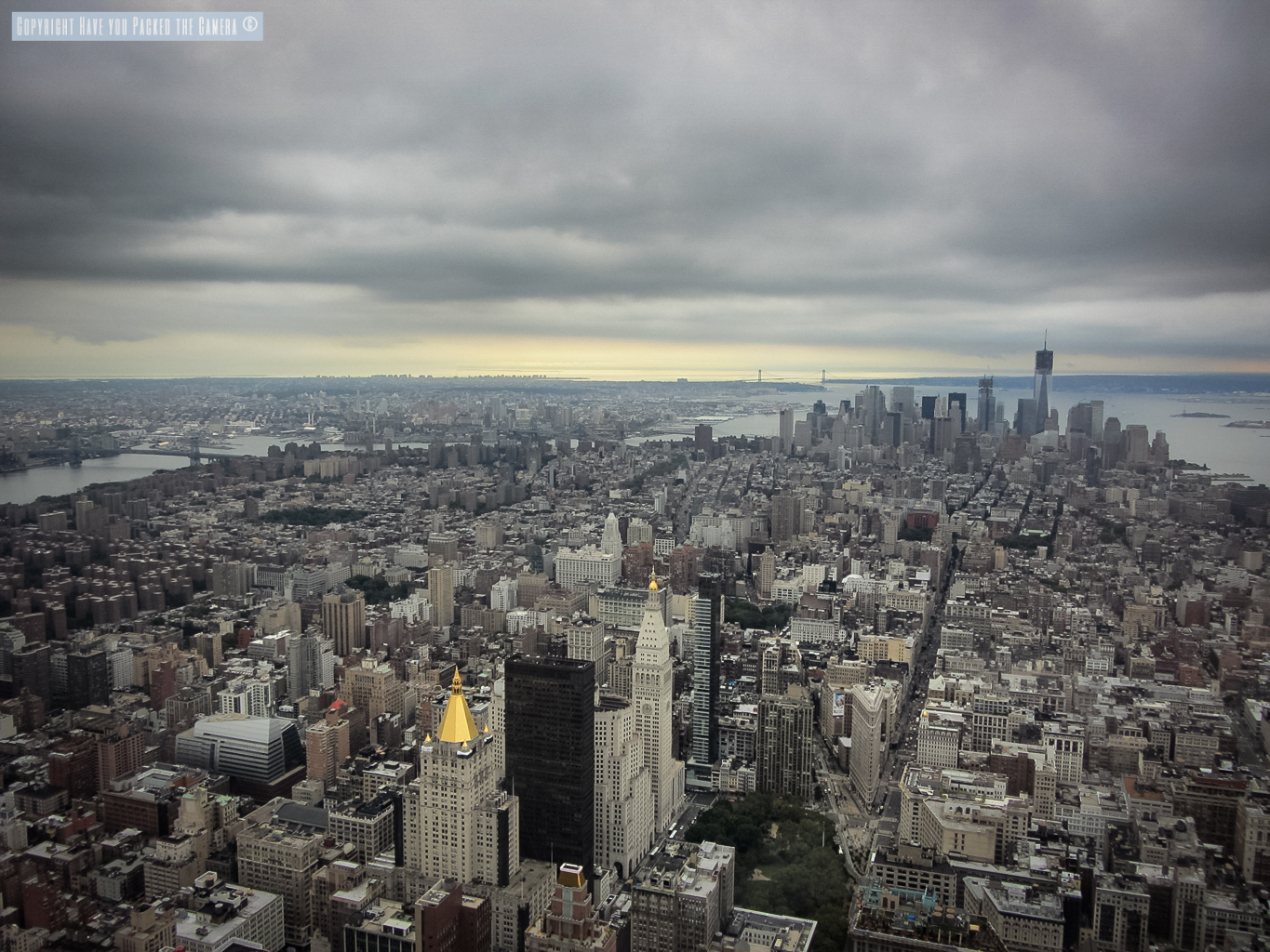 Empire state building view from 102 floor for 102nd floor