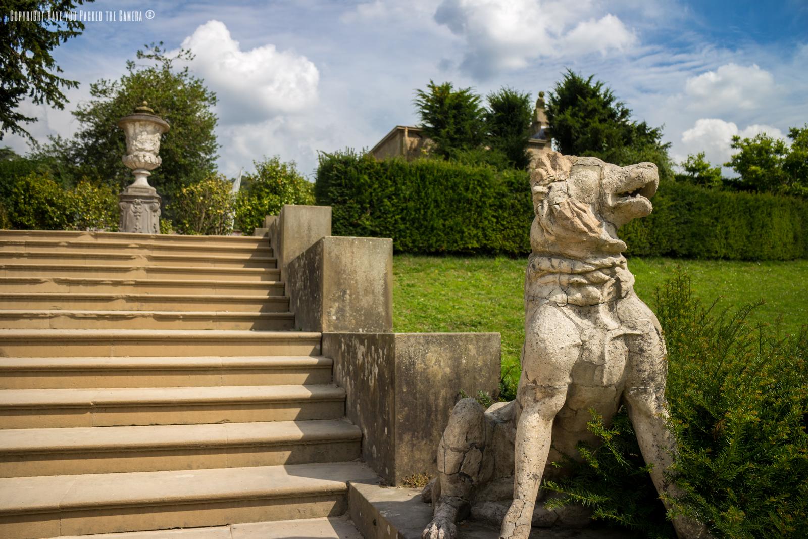 Chatsworth Estate and Gardens in the Peak District, Derbyshire