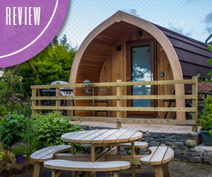Hotel Review - Mosedale End Farm Glamping Pod, The Lake District