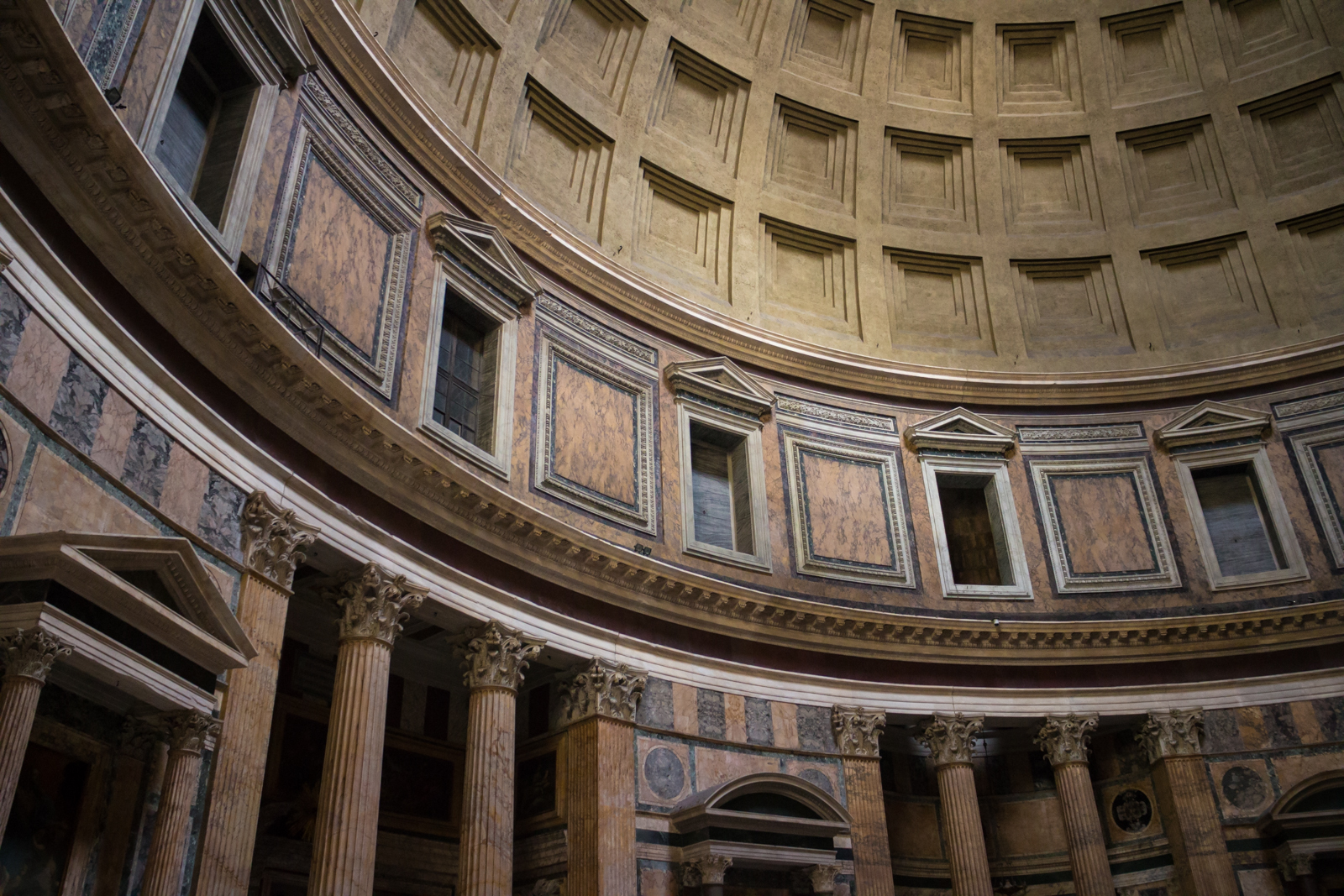 THE GEOMETRY OF THE PANTHEON S VAULT    Best images about Roman Architecture on Pinterest   Museums  Emperor and  Rome